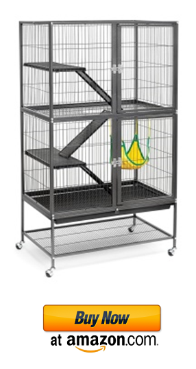 An example of big chinchilla cages for sale.
