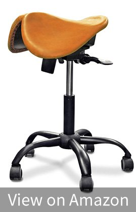 Saddle office chair from Amazon